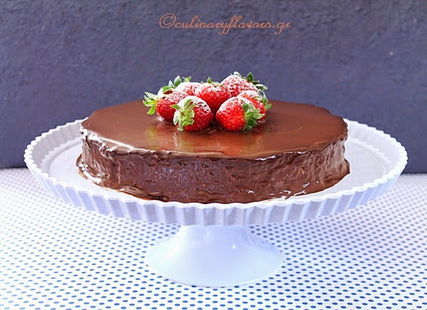 Chocolate Torte with Sweetened Condensed Milk