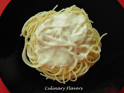 Spaghetti al Roquefort