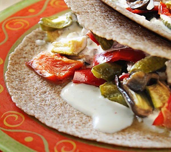 Greek Style Tortilla Wraps