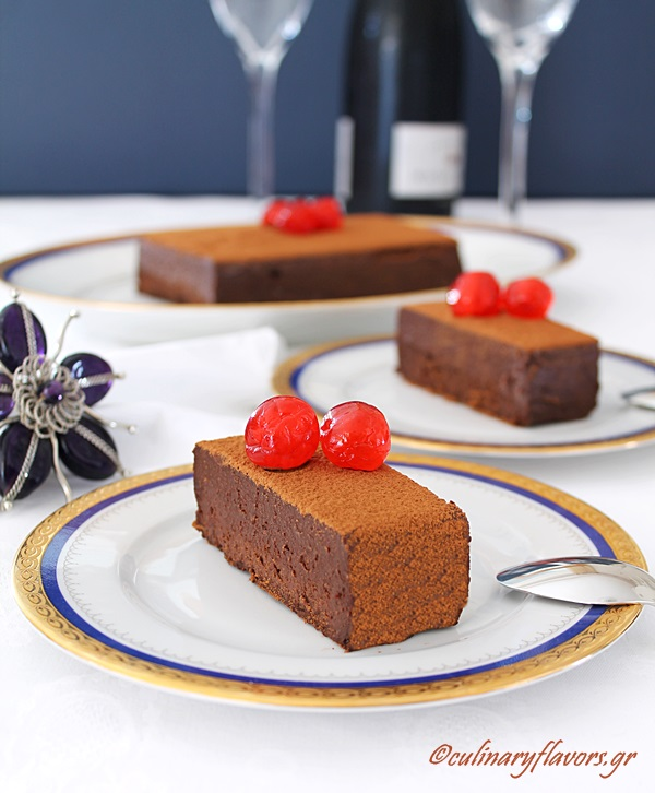Peppermint Laced Chocolate Mousse Torte and Giveaway