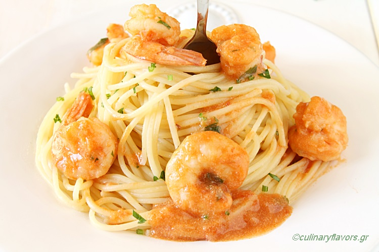 Pasta with Shrimps
