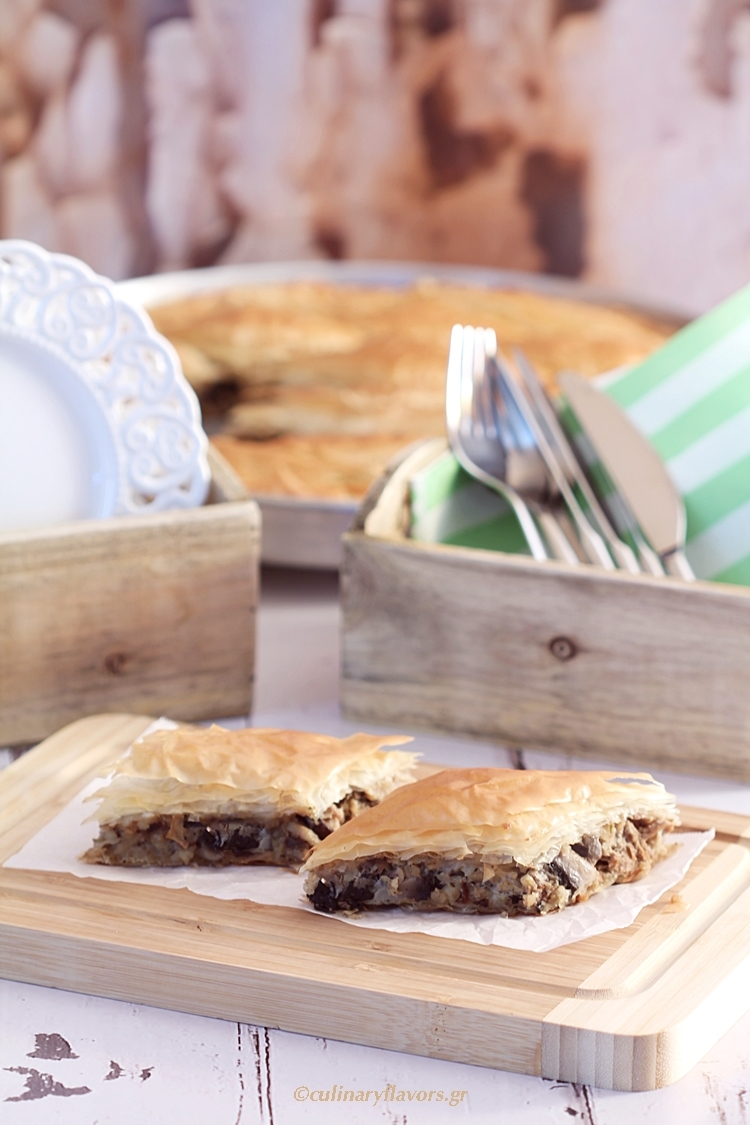 Four Type of Mushroom Pie
