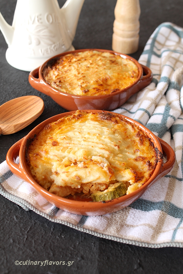 Shepherd's Pie with Curry Chicken