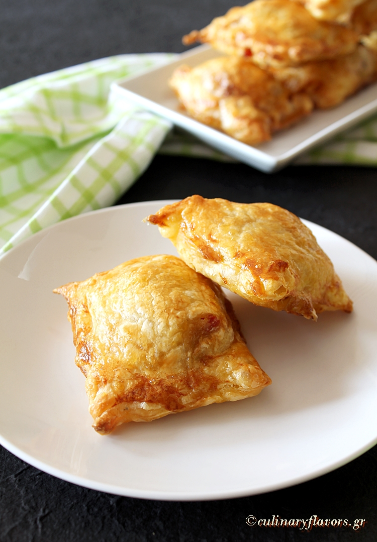 Talagáni Cheese Wrapped in Puff Pastry