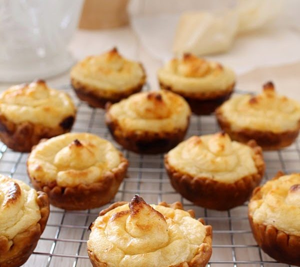 Savory Puff Pastry Nests