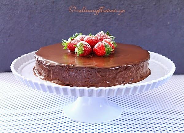 Chocolate Torte with Sweetened Condensed Milk