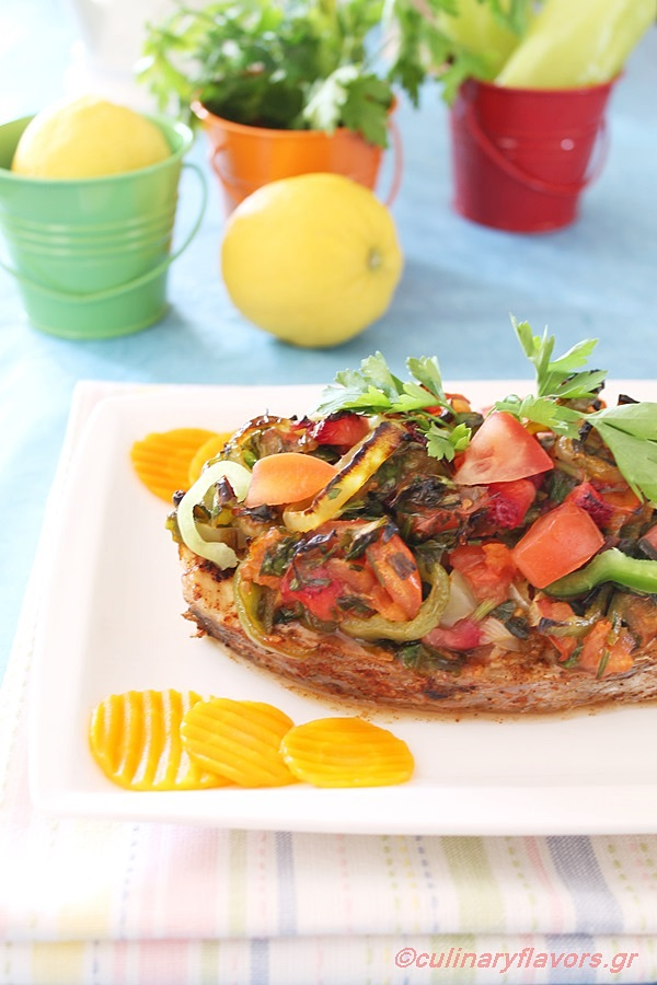 Marinated Sea Bream with Vegetables