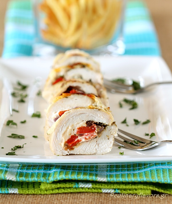 Stuffed Chicken Rolls
