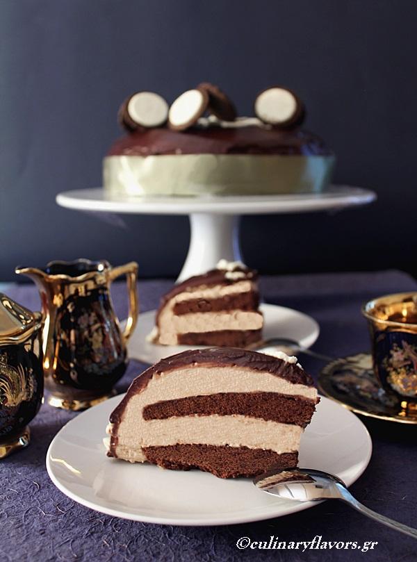 Chestnut Chocolate Mousse Torte