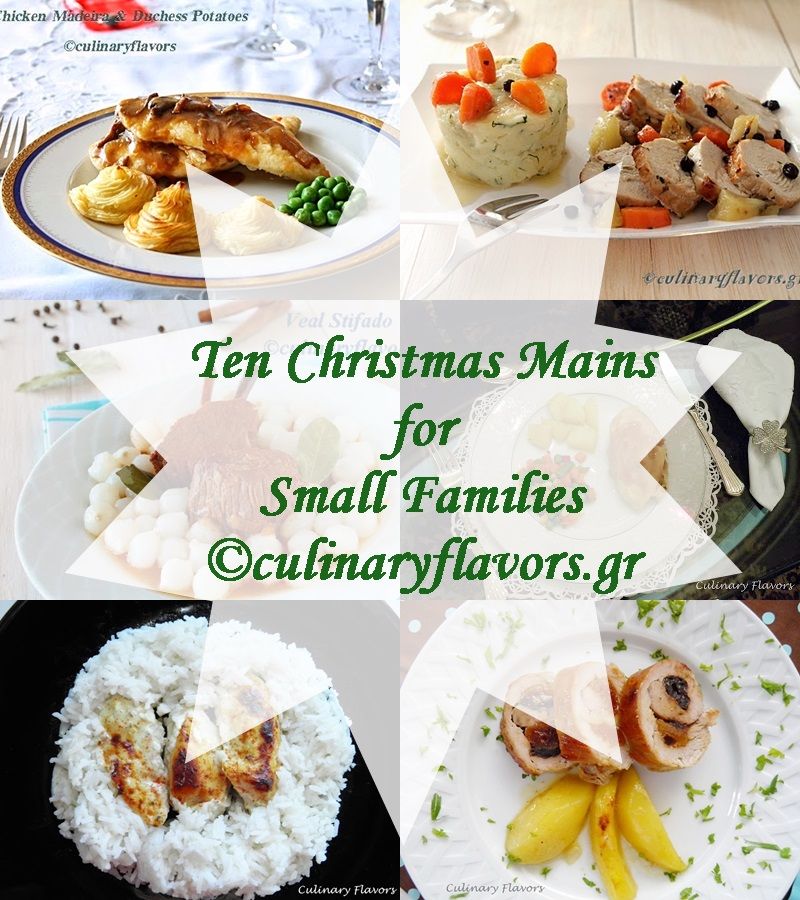 Ten Main Courses for Small Families, Winners and New Giveaway