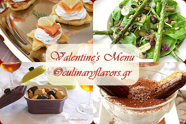 A Full Course for Valentine's Menu