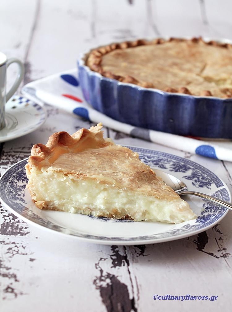 Lemon Scented Galaktoboureko Pie
