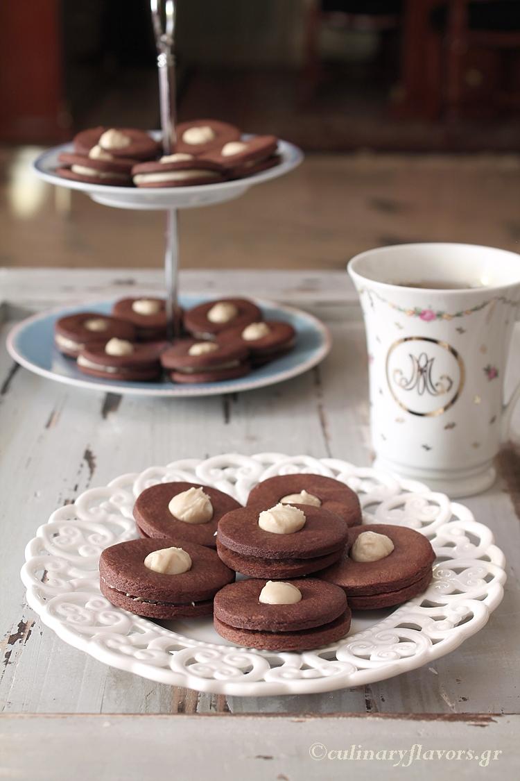 Vegan Chocolate Cookies with Tahini
