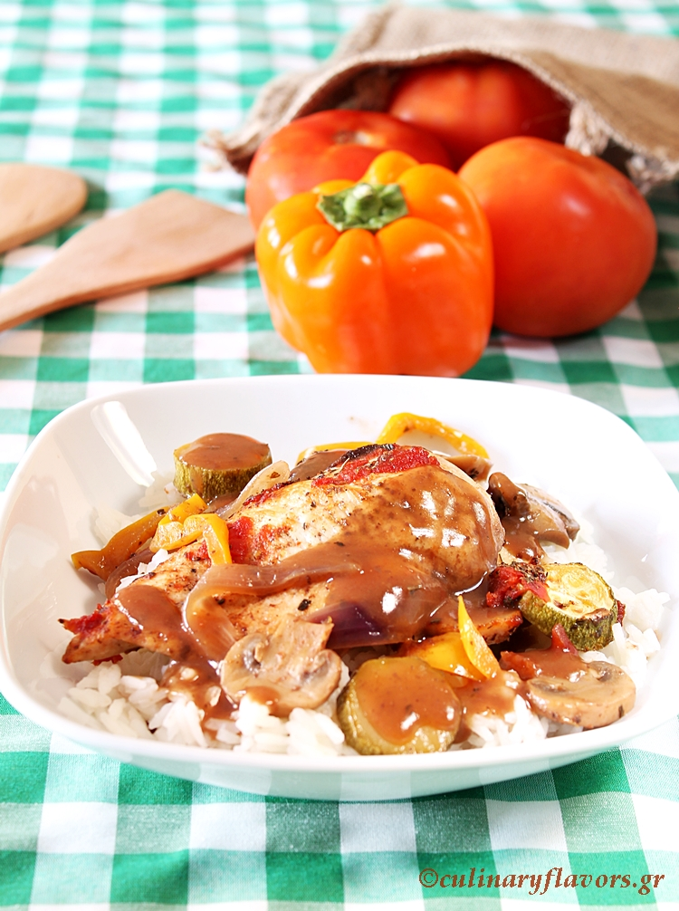 Country Chicken Greek Style