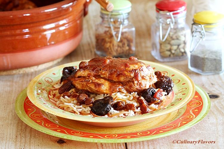 Chicken Tagine Moroccain
