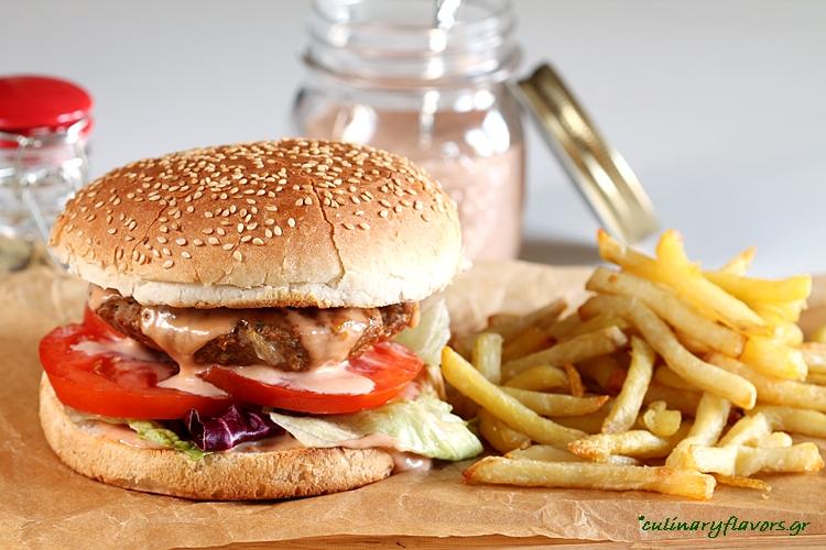 Biftekia (Greek Burgers)
