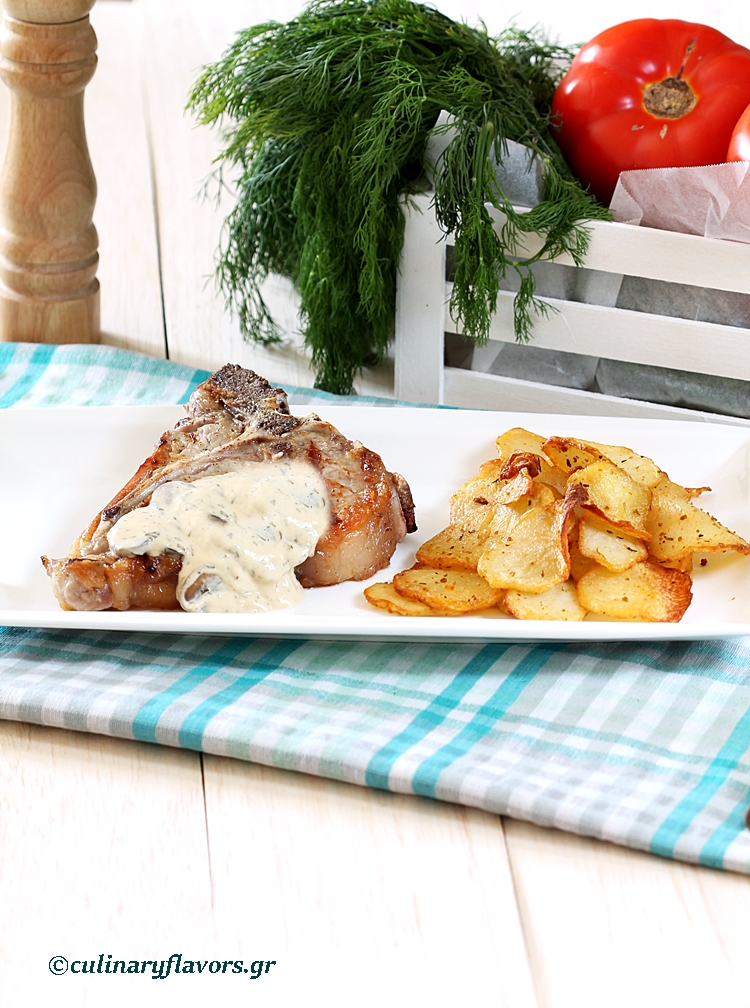 Beef Steaks with Lemon Dill Sauce