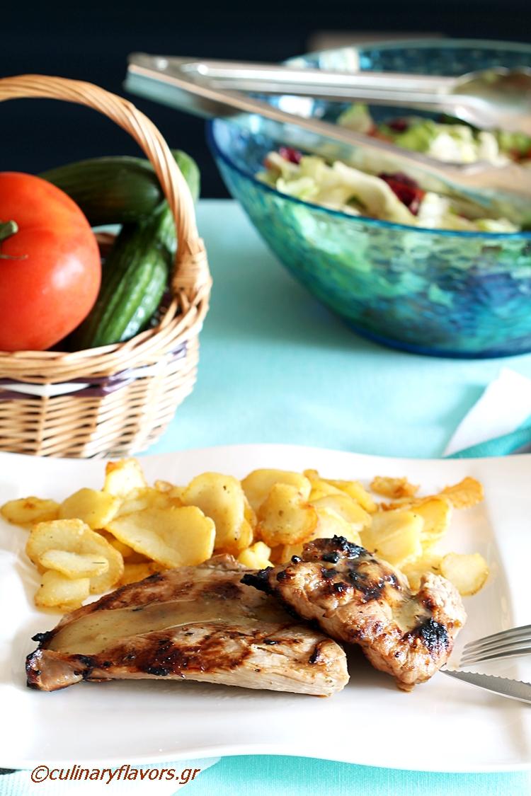 Grilled Lemon Marinated Pork Tenderloin