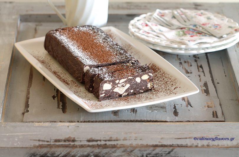 Chocolate Tahini Dessert