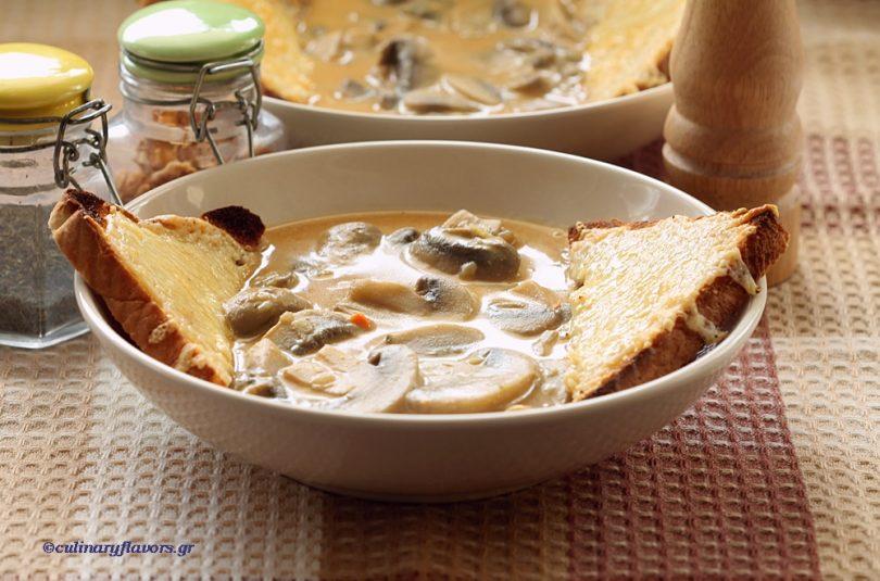 Mushroom and Sweet Potato Soup