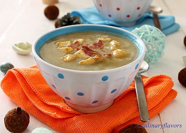 Chestnut and Vegetables Soup